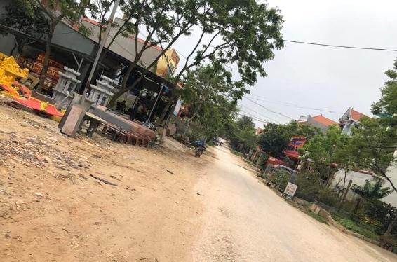 bán đất mặt đường chính trung tâm xã Tam Quan