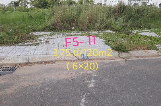 Chuyển nhượng nhanh lô nền 11 - F5 khu đô thị Golden City An Giang