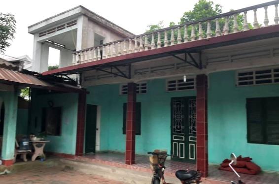 Mua Bán đất tại chợ Ngoại Trạch, Tam Hợp có nhà cấp 4