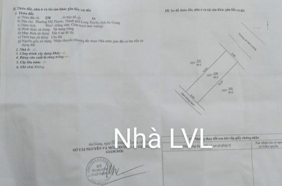 📢Bán nhà Cấp 4 Hướng Đông Bắc  đường Lê Văn Lương, phường Mỹ Phước