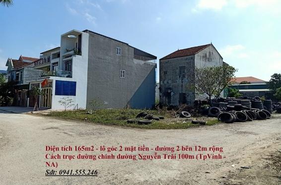 Lô góc  đường 12m cách đường Nguyễn Trãi 100m